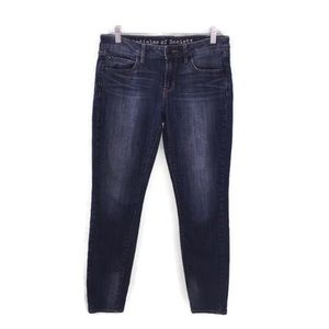 Articles of Society Blue Denim Crop Skinny Jeans